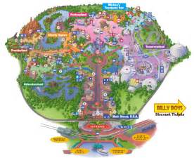 map disneyland florida disney world map free large images projects to try