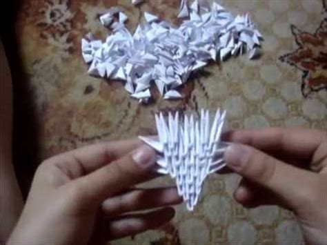 tutorial para hacer origami 3d tutorial dragon 3d origami by angeliqs head youtube