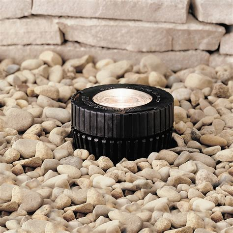 Kichler Well Light Kichler 15190bk 12v Mini In Ground Well Light