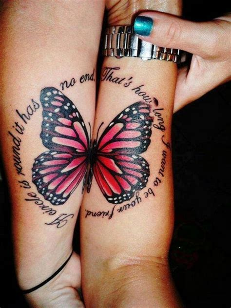 39 Brilliant Best Friend Tattoos You Ve Got To Get With Best Ideas Of Butterfly Designs