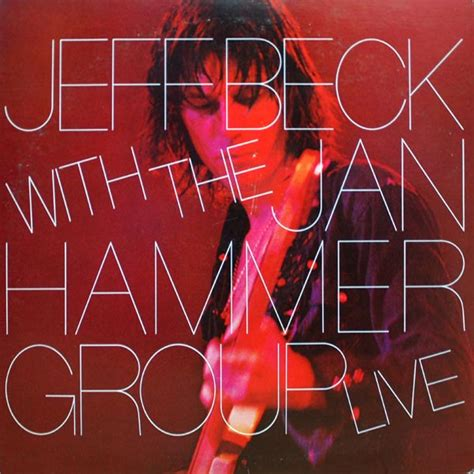 with the jeff beck live with the jan hammer groupchief engineer s