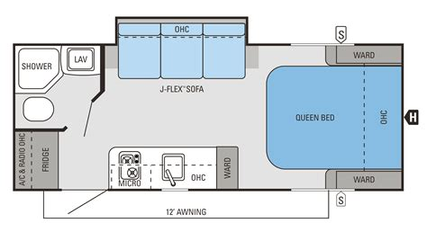 Pop Up Camper Floor Plans by Jayco Feather Slx Ultra Lite Travel Trailer