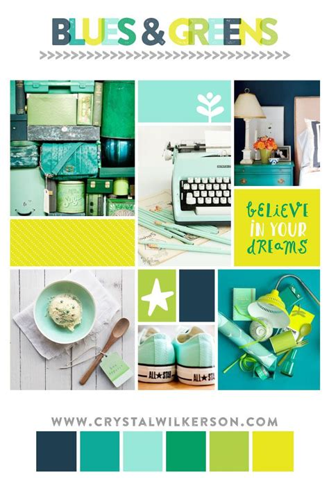 mood board monday edition blues and greens inspired color palette beautifulbination best design
