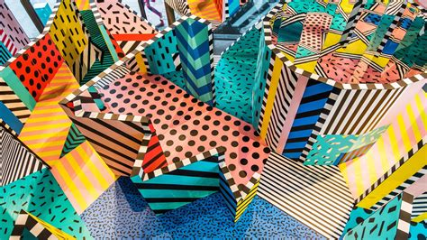 design love fest london camille walala s colourful exhibition at the now gallery