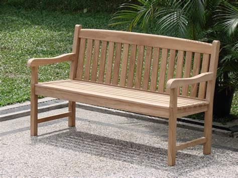 feet outdoor patio teak furniture garden bench
