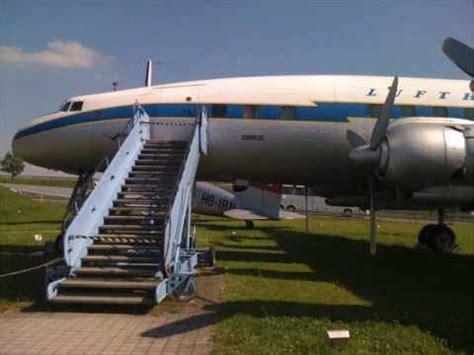 Lufthansa Lockheed Super Constellation L-1049 G - YouTube L 1049