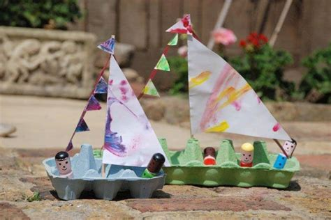 egg carton boat hello wonderful 10 delightful and easy boat crafts