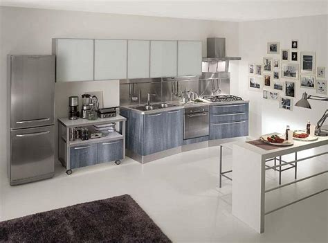 15 contemporary kitchen designs with stainless steel cabinets rilane 15 contemporary kitchen designs with stainless steel