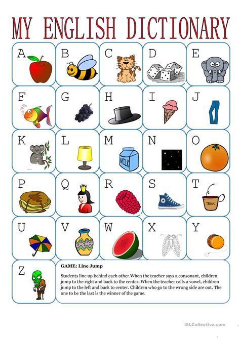 My Abc And My 123 Mini Board Book my alphabet worksheet free esl printable