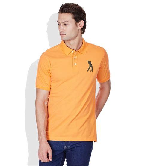 Polo Shirt Burnt Umber Light Yellow burnt umber orange polo neck t shirt buy burnt umber orange polo neck t shirt at low