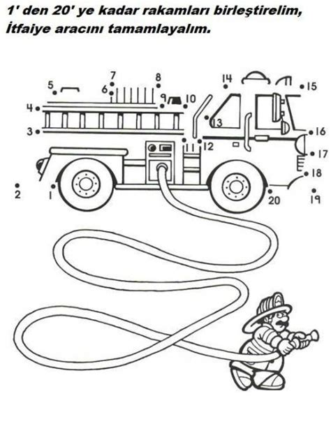 printable fire truck maze crafts actvities and worksheets for preschool toddler and