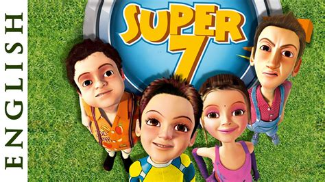film cartoon english super seven english fun cartoon movies for kids hd