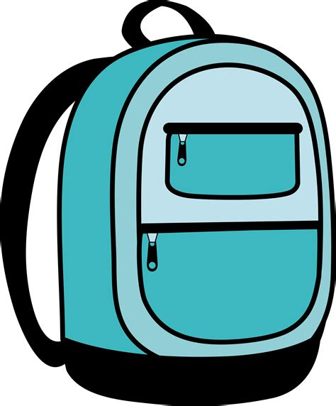 Back Pack Clipart rucksack clipart cliparts and others inspiration