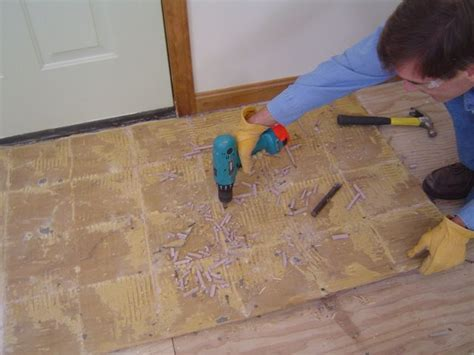 Porcelain Tile Installation On Plywood