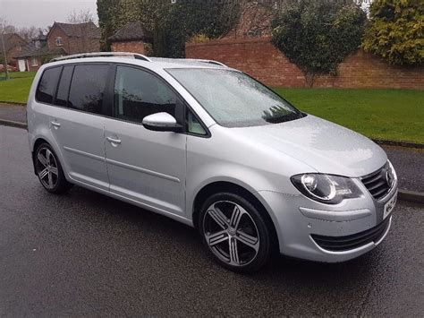 volkswagen touran for sale vw touran 1 9tdi late 2009 for sale in dundonald