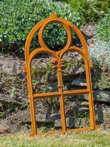 Sichtschutz Ideen Garten 4629 by Gusseisen Rahmen Rostig Antik Rost Deko