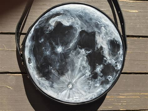 how is paint for how to paint the moon diy moon bag painting tutorial