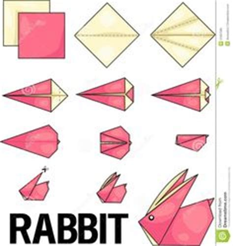 Origami Jumping Rabbit - origami tutorial frogs and origami on