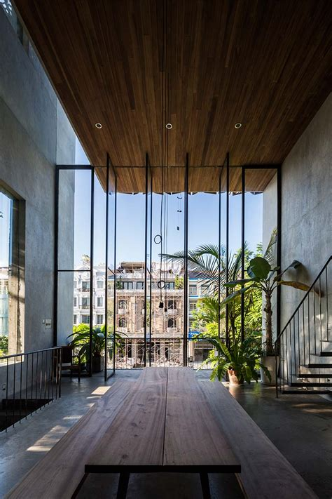 the house of saigon nishizawaarchitects completes townhouse in vietnam