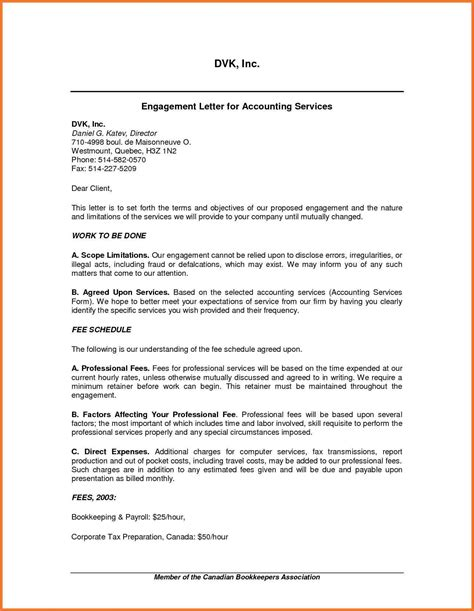 tax engagement letter template tax preparation engagement letter template sles