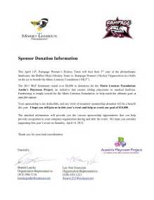 Letter Requesting Sponsorship For Charity Event sample sponsorship request letter for charity event