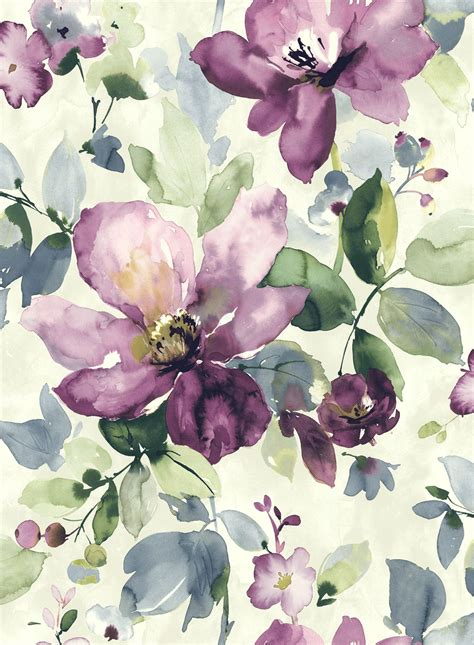 floral pattern artwork allegra flora villas and watercolor