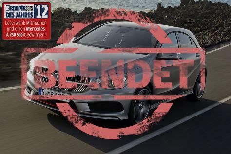 Auto Bild Sportscars Wahl 2017 by Sportscars Des Jahres 2012 W 228 Hlen Und Mercedes A 250