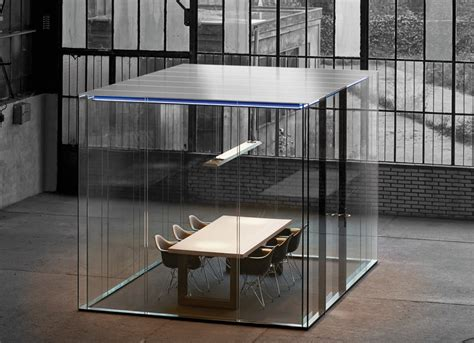 Maars LineaCube Collaborative Glass Shelter   Arenson