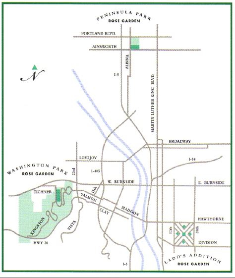 map of oregon parks pin by flower bugs on places to get married in portland