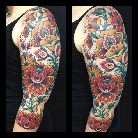 traditional tattoo sleeve designs ideas and sleeve on