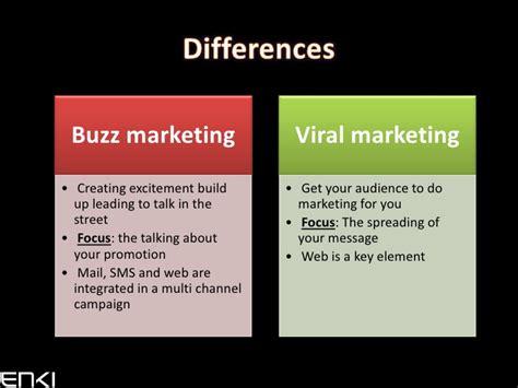 Buzz Marketing buzz marketing ou marketing viral