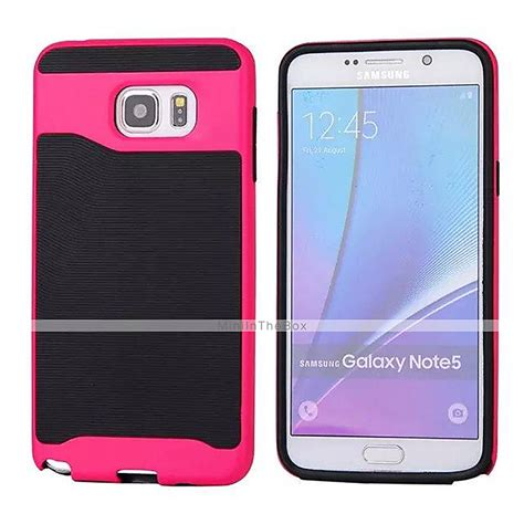 Backcase Samsung Galaxy Note 5 Armor Combo hybrid armor back cover cases for samsung galaxy note 5 edge note 5 silicone pc rubber