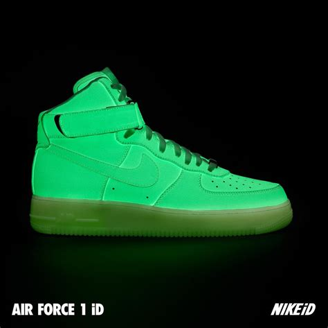 Nike Glow In The nike air 1 id glow in the sneakerfiles