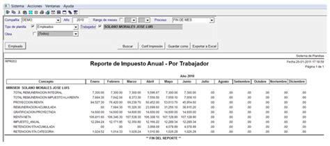 sunat renta de 5ta 2016 sunat tasas renta quinta 2016 191 como calcular la renta