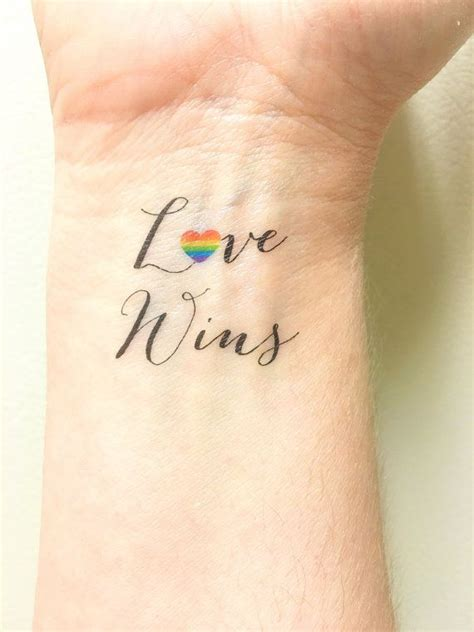 lesbian couple tattoos temporary wins is wedding gift