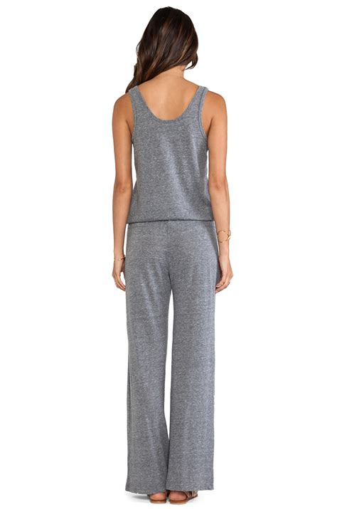 C Jumpsuit C C California Jumpsuit In Gray Lyst
