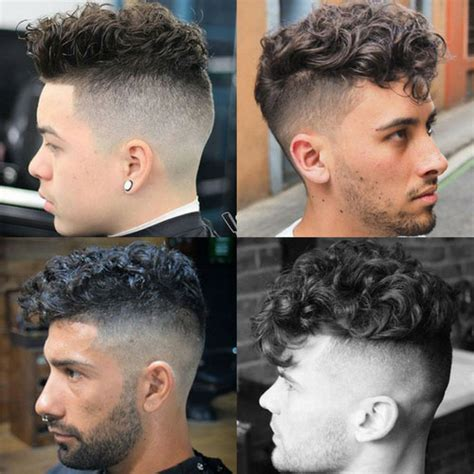 The Curly Hair Undercut   Men's Hairstyles   Haircuts 2017