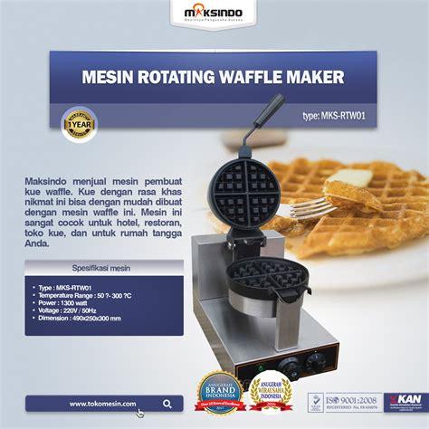 Jual Maker by Jual Mesin Rotating Waffle Maker Mks Rtw01 Di Tangerang
