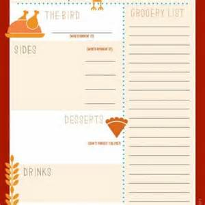 thanksgiving menu planner template 7 best images of printable thanksgiving menu