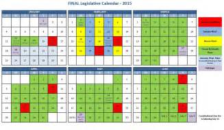 2016 senate calendar calendar template 2016