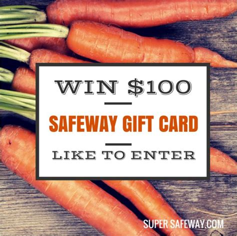 Safeway Gift Card Special - 100 safeway gift card giveaway closed super safeway