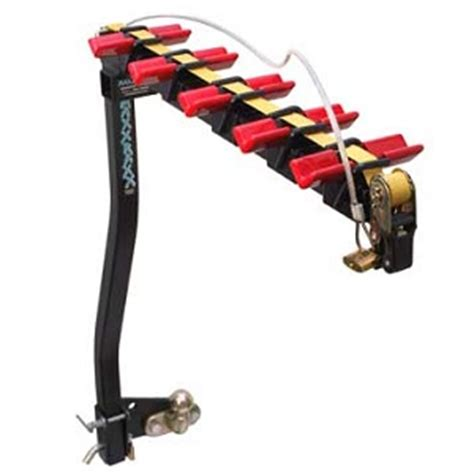 Swan Neck Towbar Bike Rack by Maxxraxx 4 Bike Carrier Kent Towbars Polar Automotive