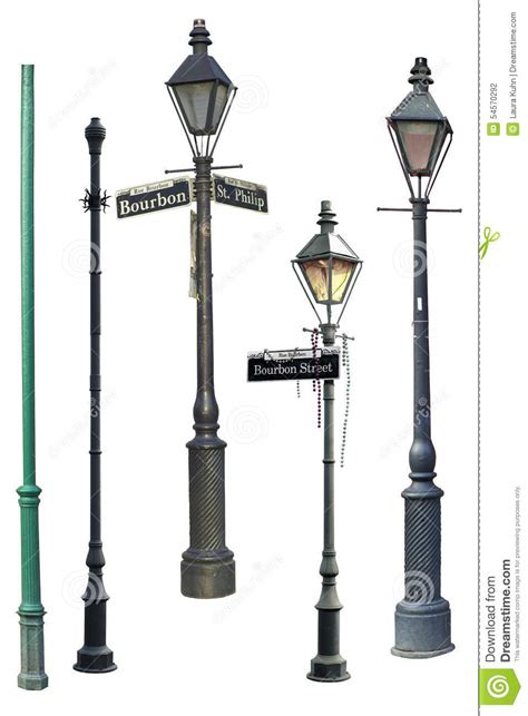 lights festival new orleans new orleans street light collection stock photo image