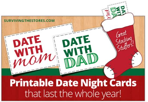 printable mom amp dad date night cards for stocking stuffers