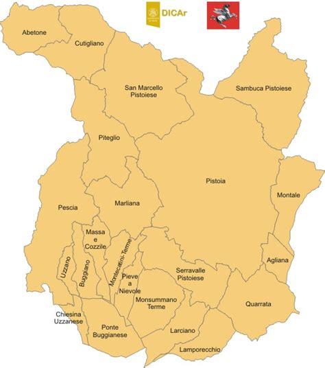 banche pistoia accelerogrammi di riferimento provincia di pistoia