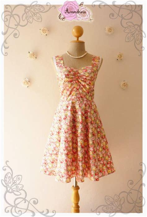 Bg 57 Dress garden of goddess green bg pink tulip tea dress tea