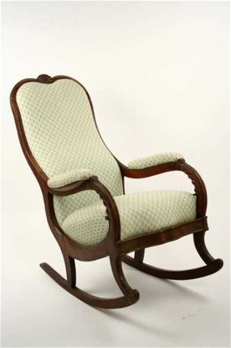 lincoln style rocking chair rocking chair walnut framed lincoln style 1813007