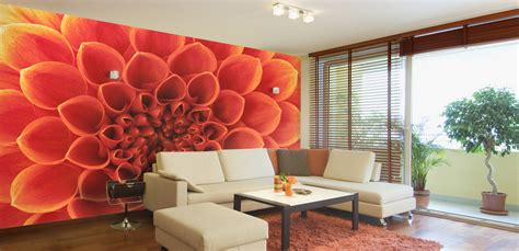 murals for walls floral themed wall murals for s day