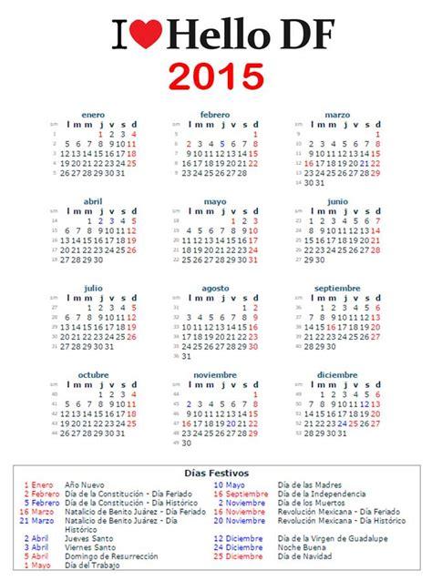 dias festivos calendario 2015 calendario dias festivos mexico imagui