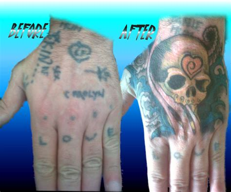 tattoo cover up for hands hand cover up tattoo by steely2012 on deviantart